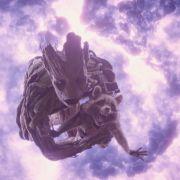Jetzt schon die Lieblinge der Kinogänger: Groot und Rocket.