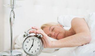 Ausreichender Schlaf erhöht die Stressresistenz. (Foto)