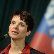 Ermittlungen gegen sächsische AfD-Chefin Frauke Petry (Foto)