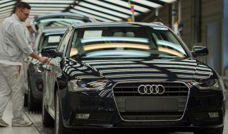 Audi ruft 70 000 Autos wegen möglicher Bremsprobleme zurück (Foto)