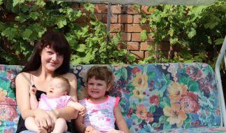 Ihre beiden Töchter liebt Diana M. über alles. (Foto)