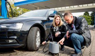 Der Zustand der Reifen hat großen Einfluss auf die Fahrsicherheit - aber auch auf den Kraftstoffverbrauch. (Foto)