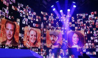 Imposantes Bühnenbild: Bei Rising Star 2014 steht eine riesige LED-Wand im Mittelpunkt des Geschehens. (Foto)