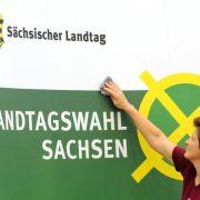 Schwarz-gelber Regierung inSachsen droht das Aus (Foto)