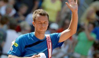 Philipp Kohlschreiber will bei den US Open in die dritte Runde einziehen. (Foto)