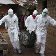 Spannungen in Afrika wegen Ebola nehmen zu (Foto)