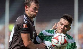 FC St. Pauli kampfbereit gegen Braunschweig. (Foto)