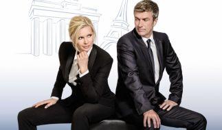 Veronica Ferres und Philippe Caroit regieren Deutschland und Frankreich. (Foto)