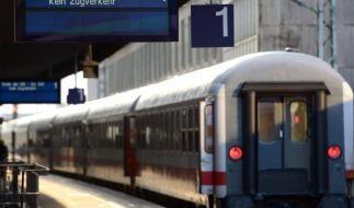 Warnstreik legt Bahnverkehr lahm (Foto)
