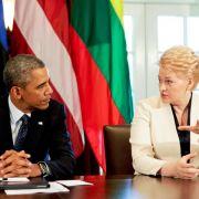 Obama garantiert östlichen Nato-Partnern Solidarität (Foto)