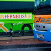 Fernbusse profitieren von Lokführer-Streiks (Foto)