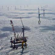 Größter deutscher Meereswindpark lahmt nach rätselhaftem Defekt (Foto)
