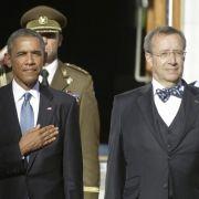 Obama verspricht Baltikum «ewige» Unterstützung der USA (Foto)