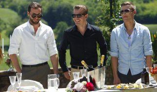 Peter, Paul und Marcel (v.l.n.r.) - Werden sie sich bei Cath the Millionaire verlieben? (Foto)