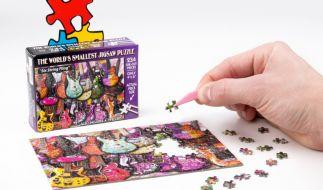 Wie gut ist Ihr Fingerspitzengefühl? Testen Sie es mit dem kleinsten Puzzle der Welt! (Foto)