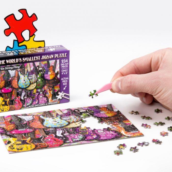Liebling, ich habe das Puzzle geschrumpft! (Foto)