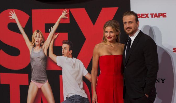 Cameron Diaz und Jason Segel waren in Berlin zu Gast, um ihren neuen Film Sex Tape vorzustellen. (Foto)