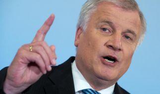 Seehofer warnt CDU: Maut nicht zerreden (Foto)