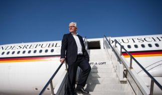Steinmeier beginnt Besuch in Indien (Foto)