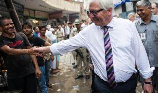 Steinmeier trifft Indiens Premier Modi (Foto)