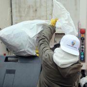 Müllsack einen Tag zu früh vor der Haustür: Knast! (Foto)