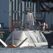 Deutsches U-Boot «Tanin» unterwegs nach Israel (Foto)