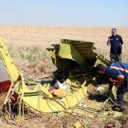 Flug MH17 wurde vom Himmel geschossen (Foto)