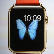 Zweiter Clou des Abends: Bei der Veranstaltung in Cupertino wurde die Computeruhr Apple Watch der Weltöffentlichkeit präsentiert.