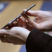 Beim Produktlaunch in Kalifornien durften die anwesenden Gäste selbst auf Tuchfühlung mit dem iPhone 6 gehen.