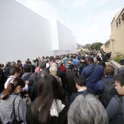 Entsprechend groß war das mediale Interesse: Hunderte Reporter aus aller Welt strömten nach Cupertino in Kalifornien, um dem Event beizuwohnen.