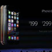 Das iPhone 6 punktet mit einer höheren Akkulebensdauer, mehr Prozessorenleistung und einem deutlich schlankeren Design. Zudem ist das Display größer als bei den Vorgängermodellen.