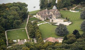 Das Schumacher-Anwesen in Gland am Genfer See. (Foto)