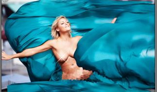 Dieses Bild dürfte Helene-Fans bekannt sein. Nur im Original trug die Sängerin ein Kleid. (Foto)