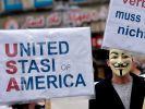 United Stasi of America: Demo gegen NSA-Methoden. (Foto)