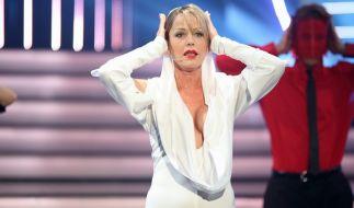 Was für ein Ausblick: Inka Bause als sexy Kylie Minogue. (Foto)
