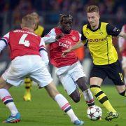 Alle Infos zu Dortmunds Triumph gegen FC Arsenal (Foto)