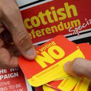 Märkte zittern vor dem Schottland-Referendum (Foto)