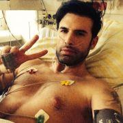 Jay Khan: Not-Operation an der Lunge (Foto)