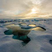 Arktisches Meereis erholt sich nicht (Foto)