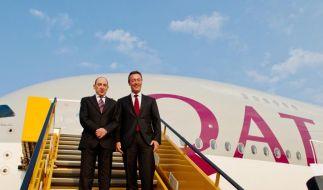 Airbus übergibt ersten A380 an Qatar Airways (Foto)