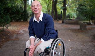 Der gebürtige Niederländer Viktor Staudt wollte seinem Leben ein Ende setzen und sprang vor einen Zug. Er überlebt, verlor beide Beine und sitzt seither im Rollstuhl. (Foto)