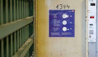 Tatort Schließfach: Die Babyleichen waren in einem Trolley verpackt und auf dem Bahnhof verriegelt. (Foto)