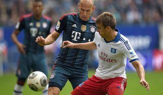 Nord-Süd-Gipfel: FC Bayern gegen Hamburger SV. (Foto)