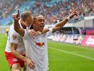 Stürmen die Roten Bullen weiter durch die Liga? RB Leipzig ist zu Gast beim 1. FC Union Berlin. (Foto)