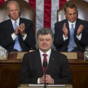 Amerikas großer Bahnhof für Poroschenko (Foto)