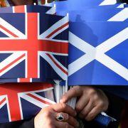 Die Welt blickt auf Schottland: «Yes» oder «No»? (Foto)