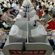 China sperrt 1,8 Millionen Nutzerkonten im Netz (Foto)