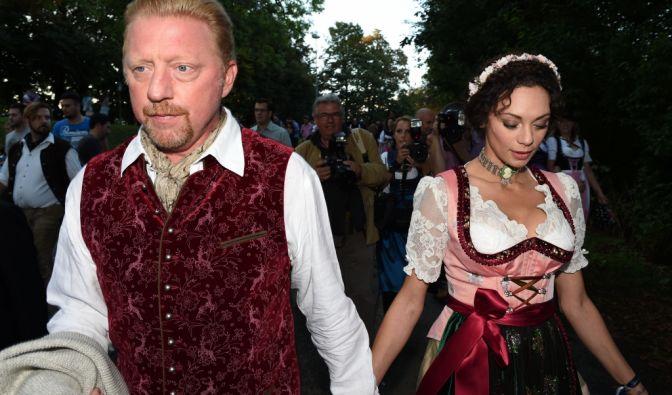 Ist Lilly Becker erneut schwanger? Nach ihrem Bier-Konsum zu urteilen, scheinbar nicht. Aber Boris verspricht: Er arbeite dran. (Foto)