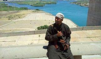 Denis Cuspert alias Deso Dogg alias Abu Talha al-Almani. (Foto)