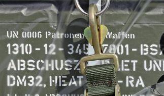 Flugzeugdefekt verzögert deutsche Waffenlieferung in den Irak (Foto)
